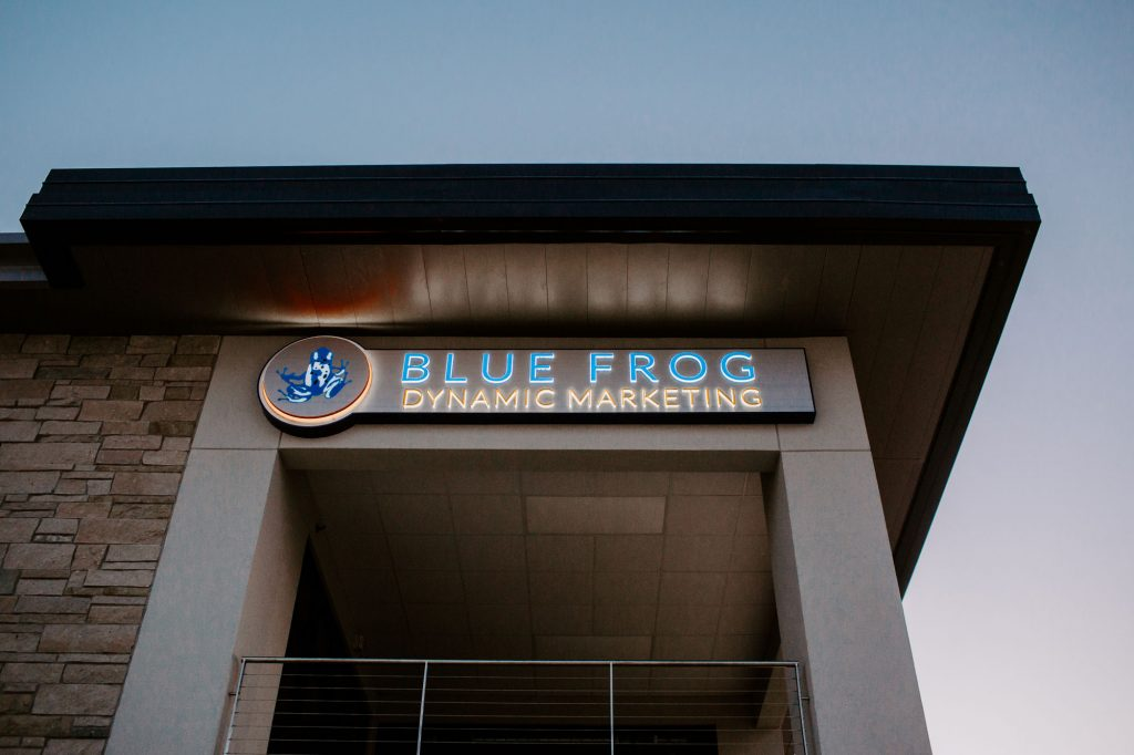 Blue Frog Marketing Building